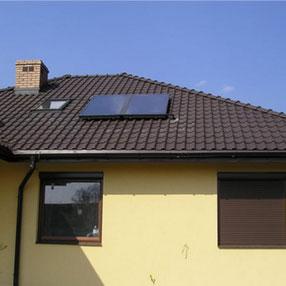 kolektory słoneczne płaskie
